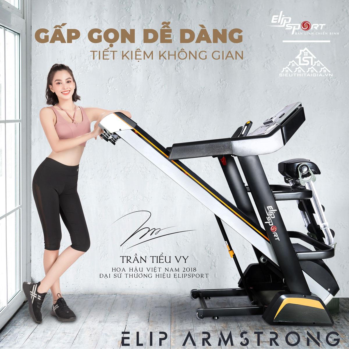 Máy chạy bộ điện ELIP Armstrong