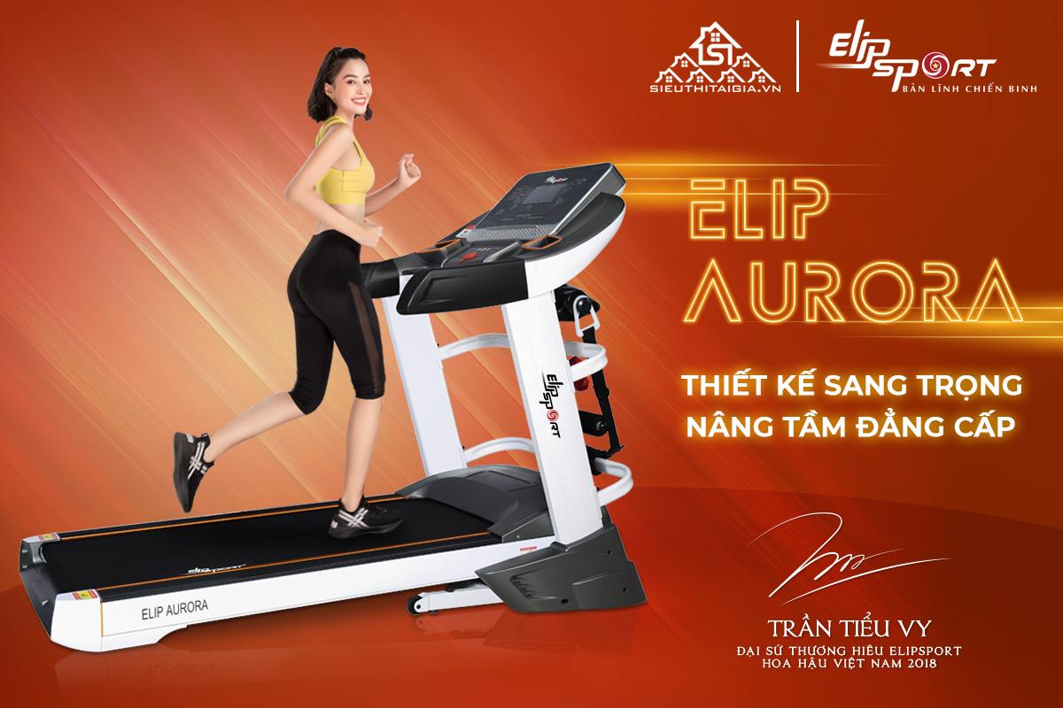 Máy chạy bộ điện đa năng ELIP Aurora
