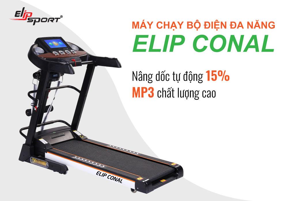Máy chạy bộ đa năng ELIP Conal  - ảnh 2