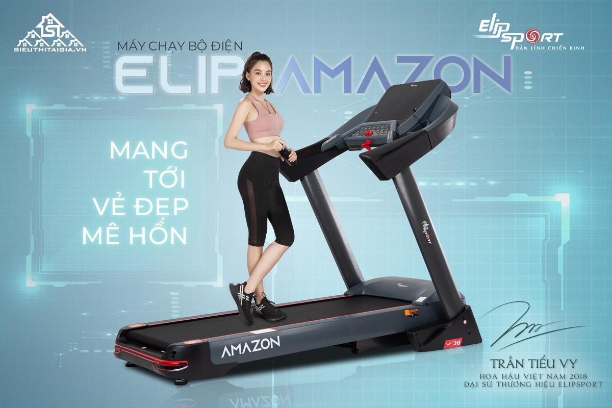 Máy chạy bộ điện Elip Amazon