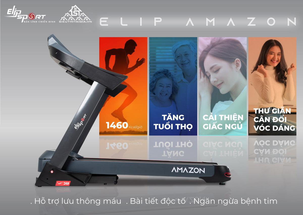 Máy chạy bộ ELIP Amazon