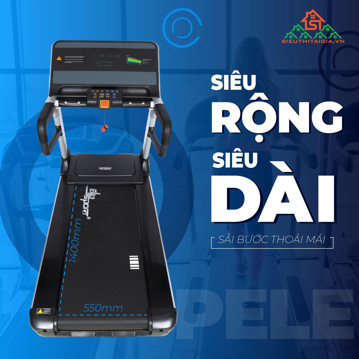 Máy chạy bộ điện ELIP Pele