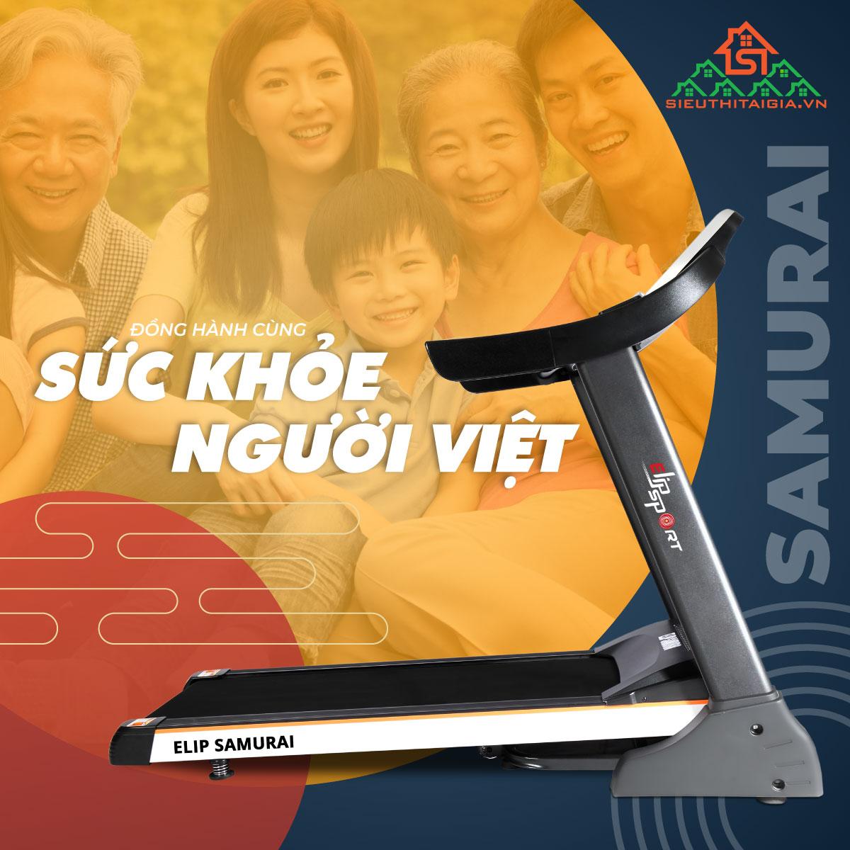 máy chạy bộ Samurai