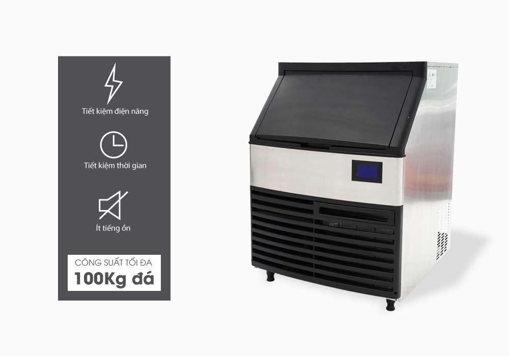 công suất máy làm đá Elip VeniceE-100