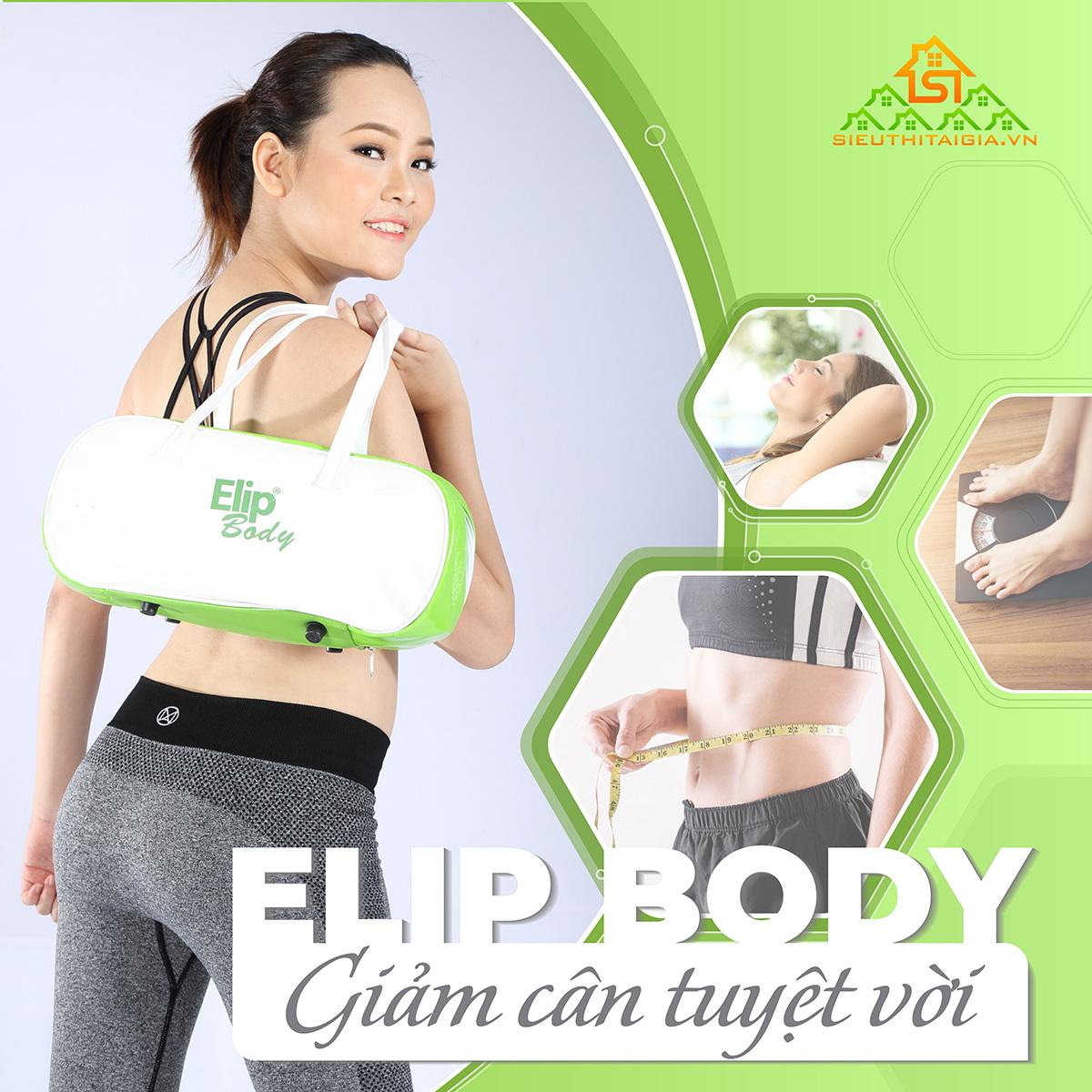 Đai massage bụng ELIP Body