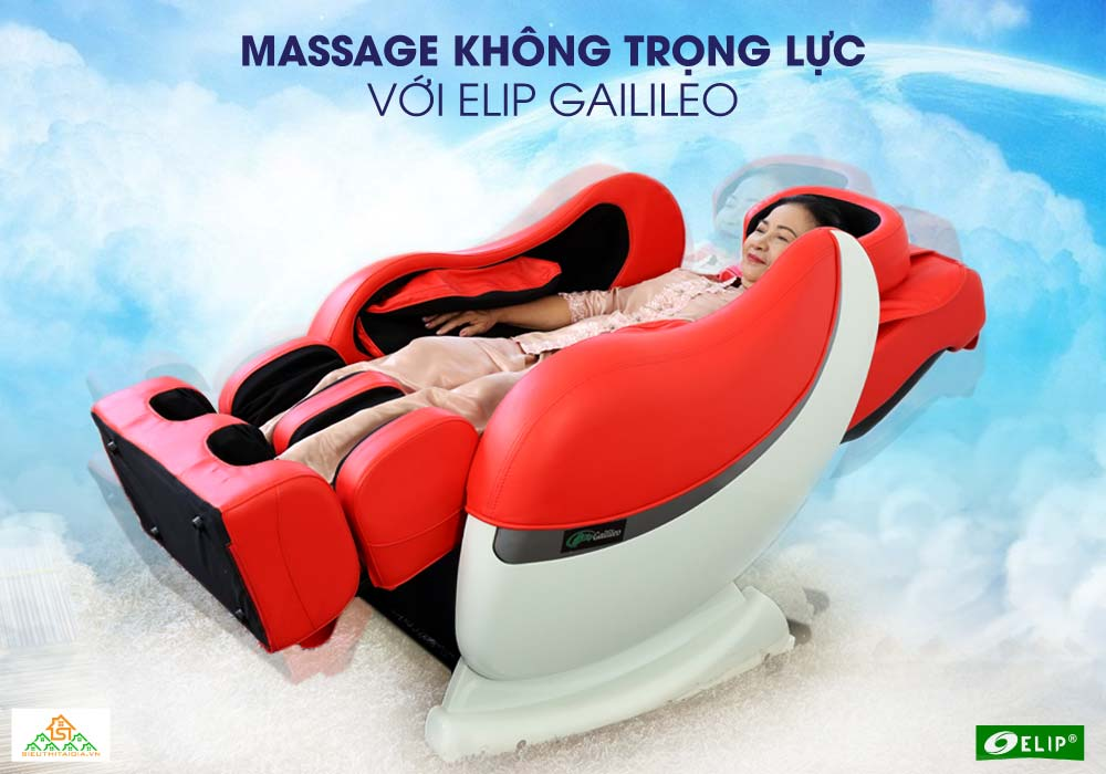 massage khong trong luc voi Ghe mat xa Elip Gailileo