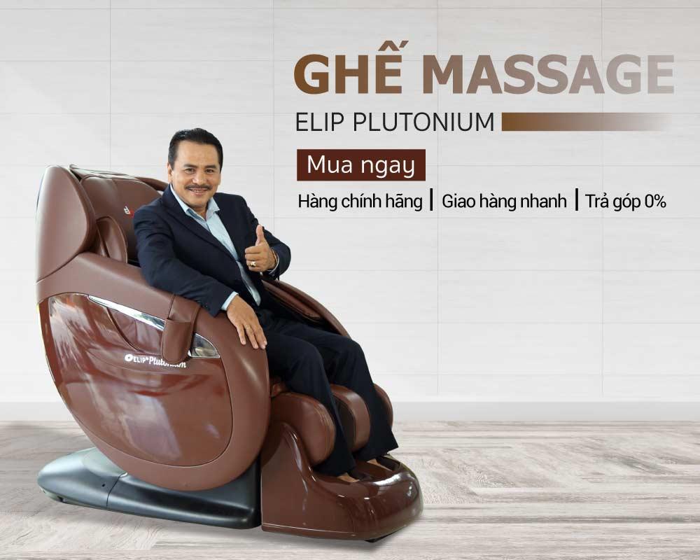 Ghế massage Elip Plutonium - ảnh 1