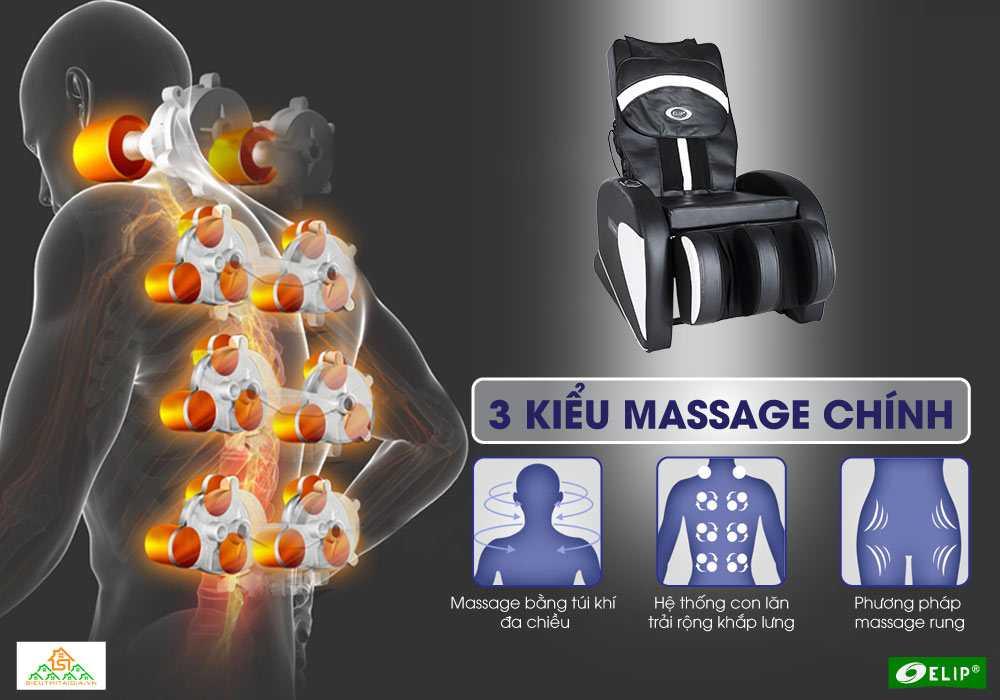 3 kieu mat xa Ghe massage Elip Aristotle