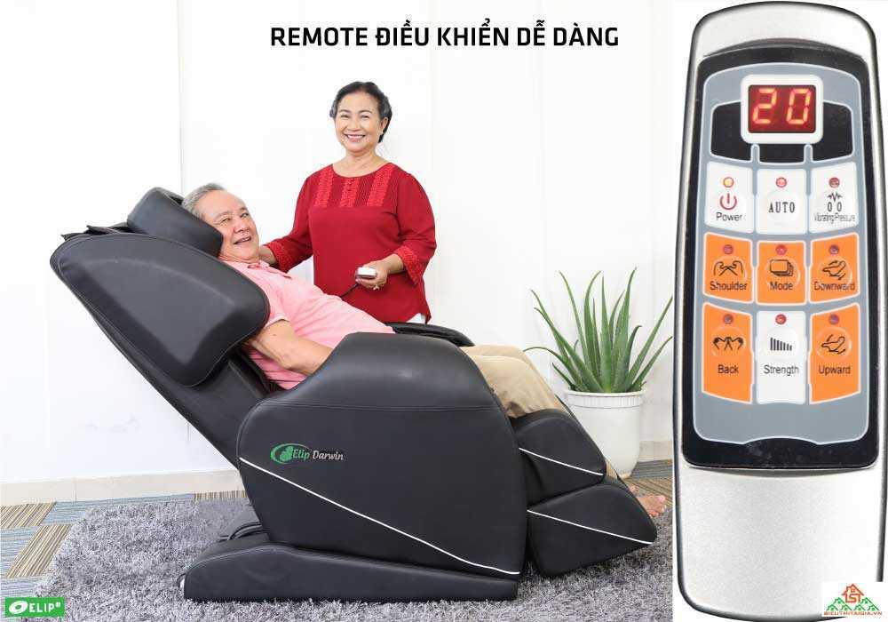 Ghe massage Elip Drawin đieu khien bang remote de dang