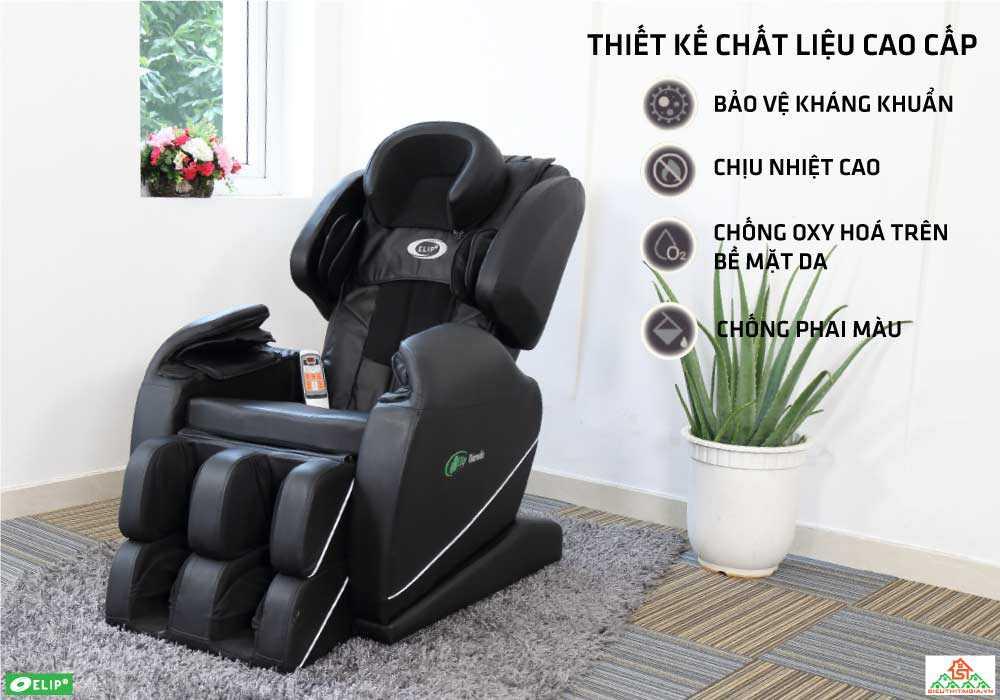 Ghe massage Elip Drawin chat lieu cao cap