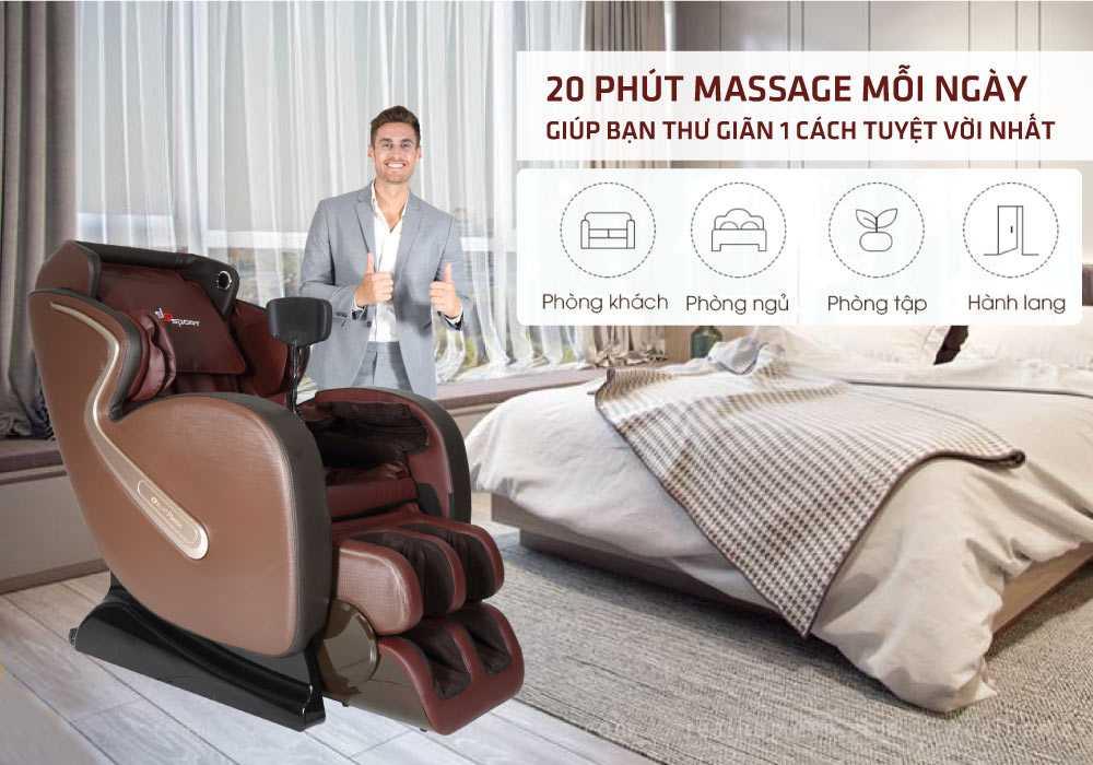Ghế massage ELIP Platin - ảnh 1