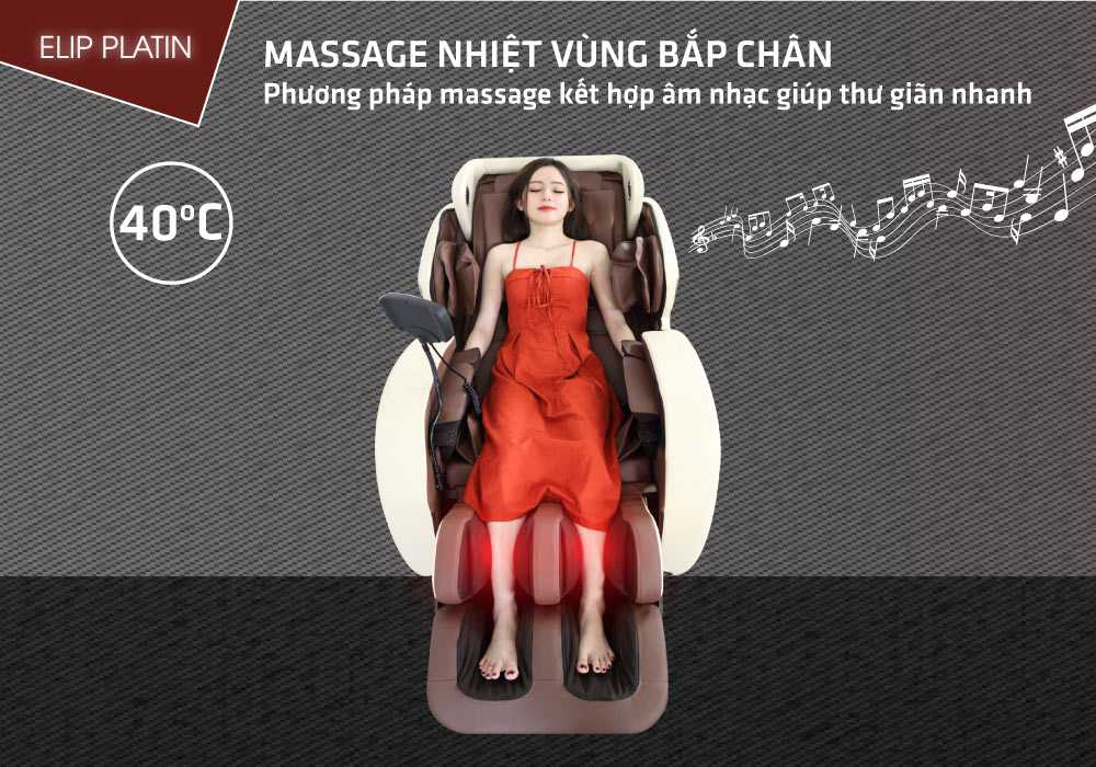 Ghế massage ELIP Platin - ảnh 2