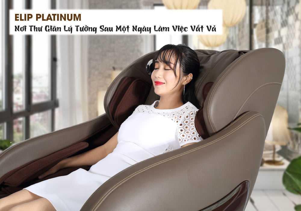Ghế massage Elip Platinum - ảnh 1