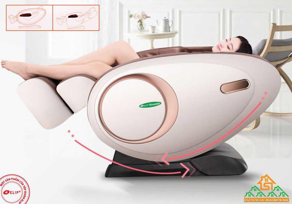 Massage trị lieu voi Ghe massage Elip Alexander