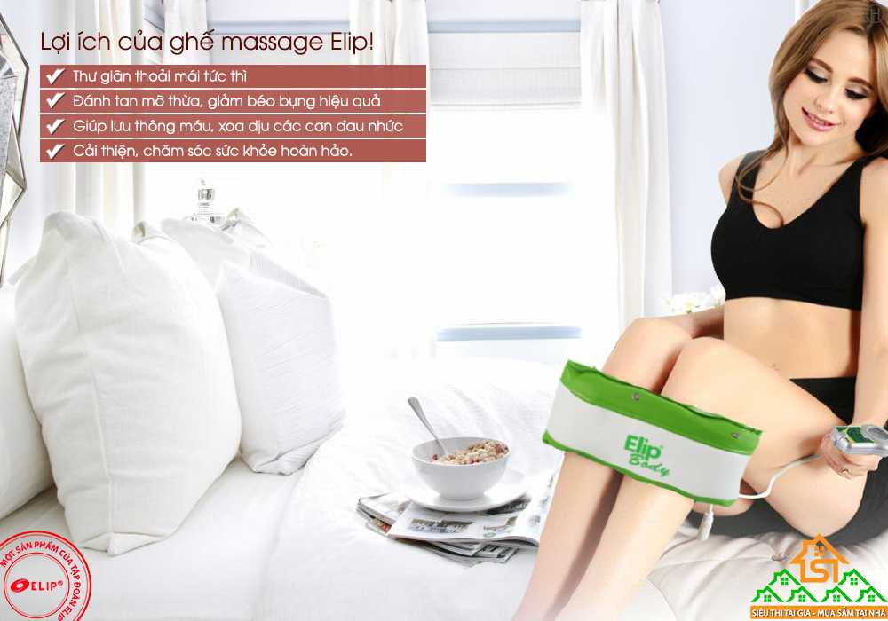 đai massage elip body