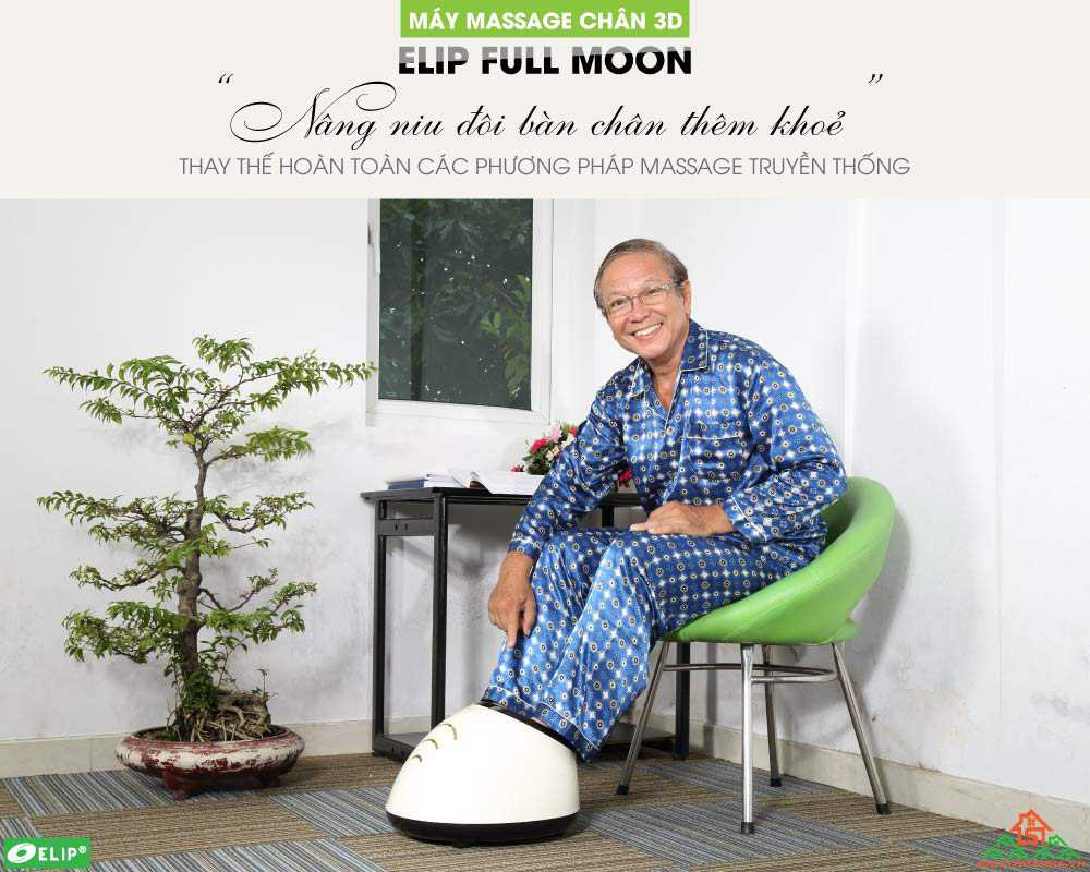 Máy massage chân 3D Elip Full Moon - ảnh 1