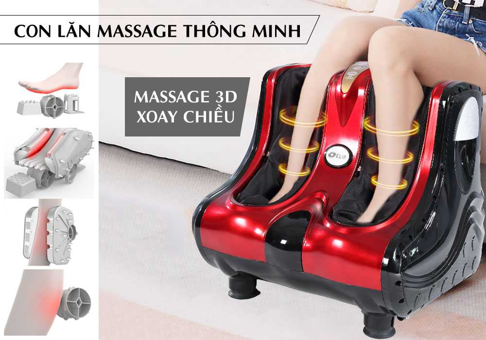 Máy massage chân Elip Platium  - ảnh 1