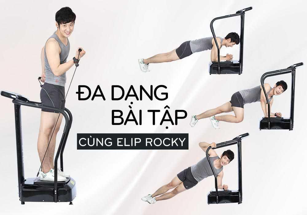 Máy rung massage Elip Rocky