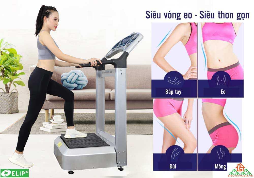 Máy Rung Gym Elip Super-S - ảnh 1