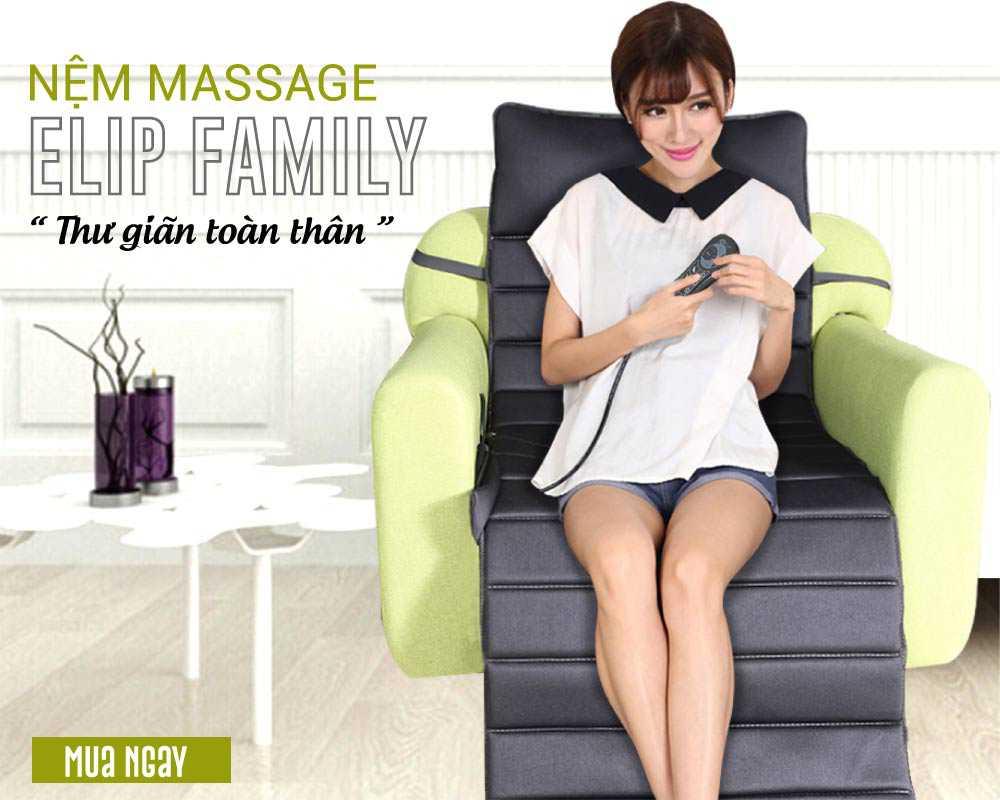 Nệm massage ElipFamily