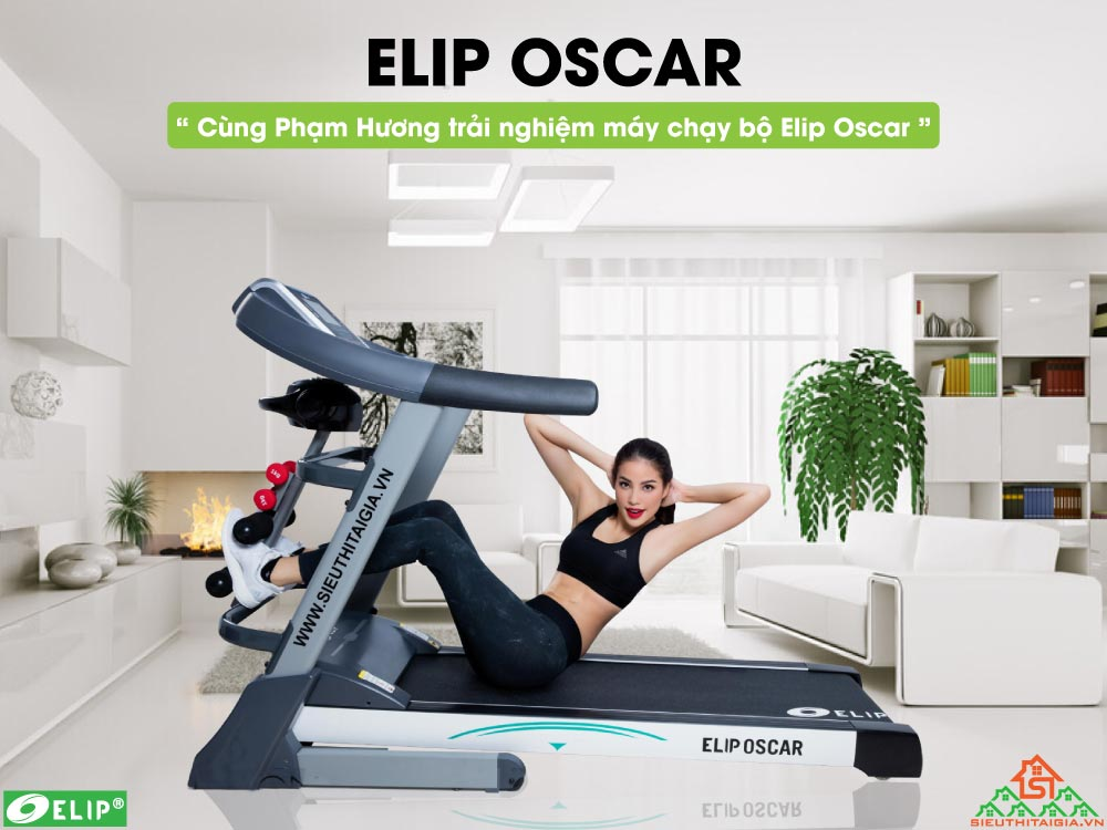 Máy chạy bộ điện Elip Oscar