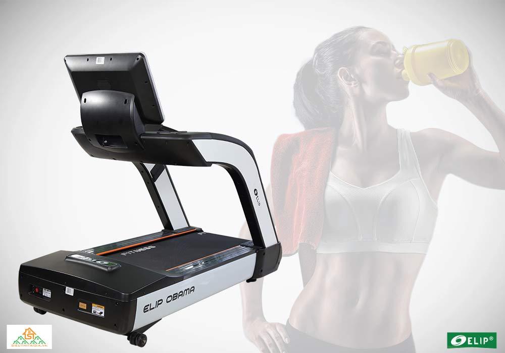 Máy chạy bộ đa năng Phòng Gym Elip OBAMA