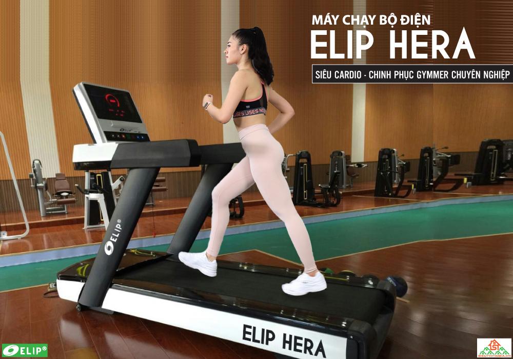 Máy chạy bộ điện Gym Elip Hera - ảnh 1