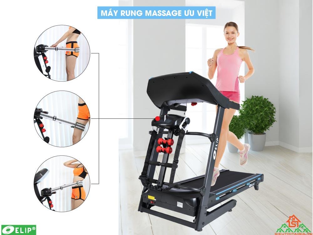 máy rung massage trong Máy chạy bộ Elip Maximus