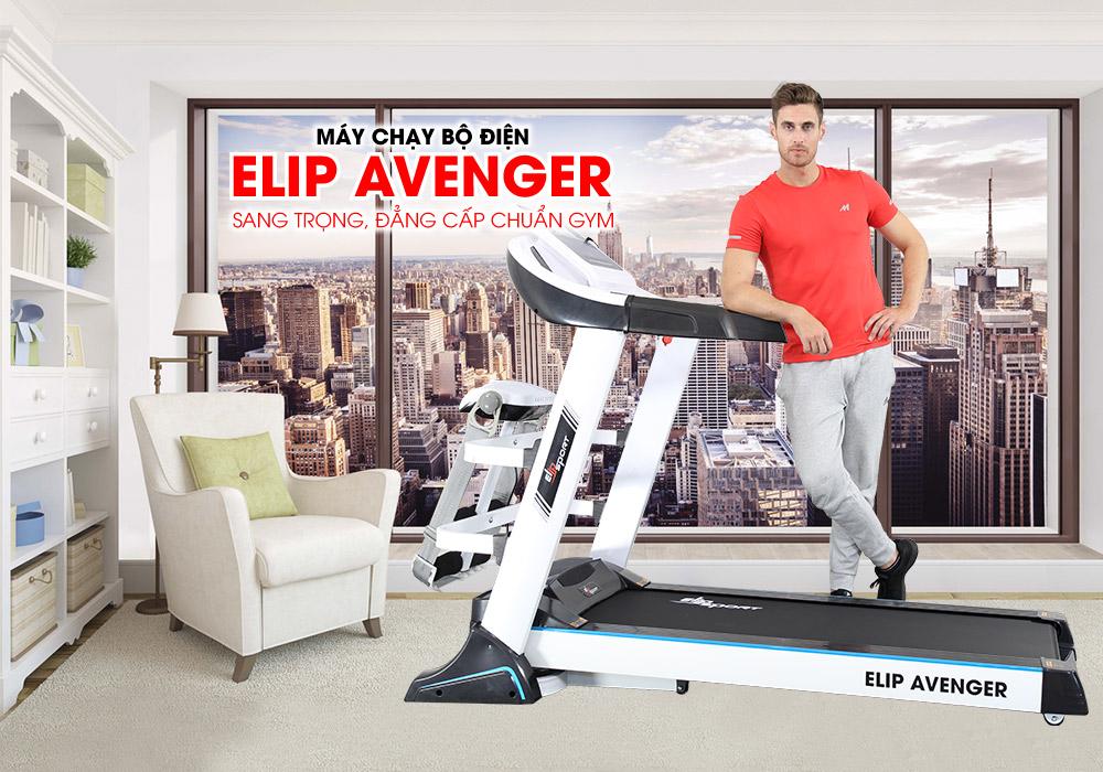 Máy Chạy Bộ Điện Elip Đa Năng Elip Avenger