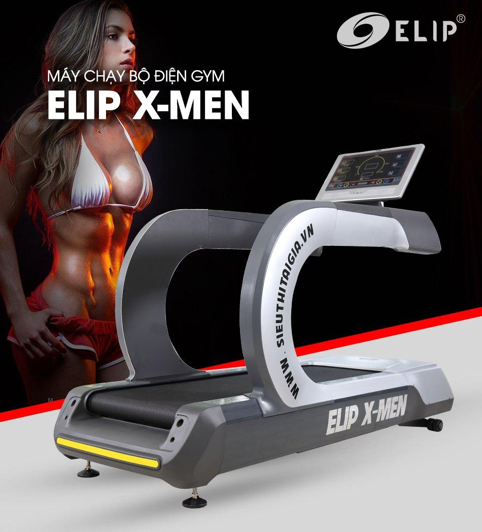 Máy chạy bộ điện Gym Elip X-Men