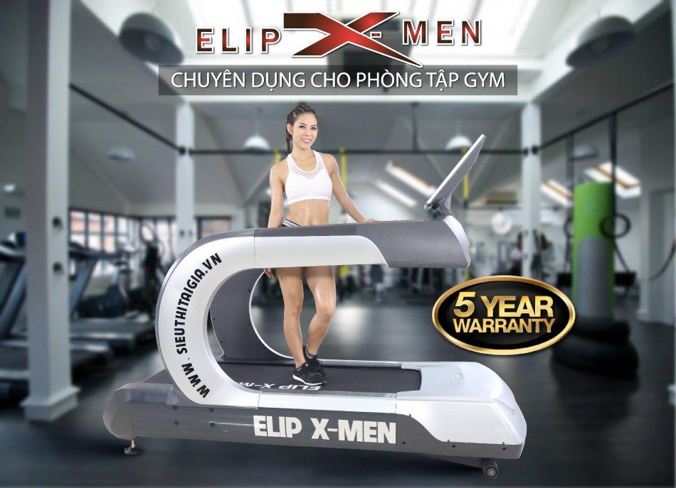 Máy chạy bộ điện Elip X-Men