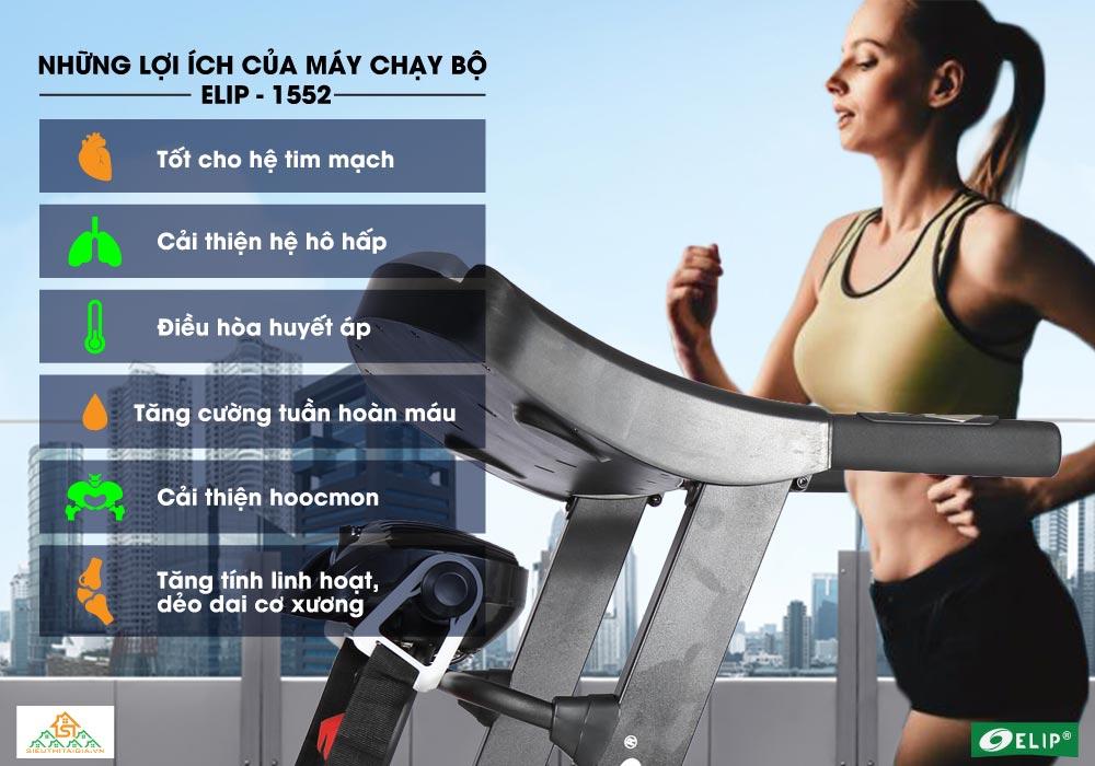 lợi ích khi chạy bộ