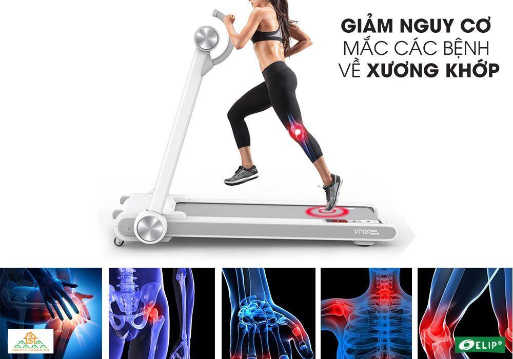 chạy bộ với Elip Rosa giảm nguy cơ mắc bệnh về xương khớp