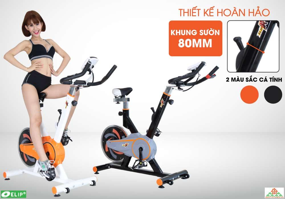 thiết kế Xe đạp tập Elip K