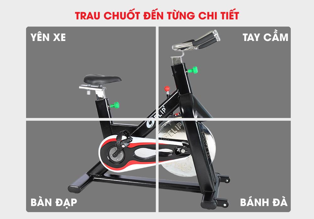Xe đạp tập Elip Gym Master thiết kế hoàn hảo