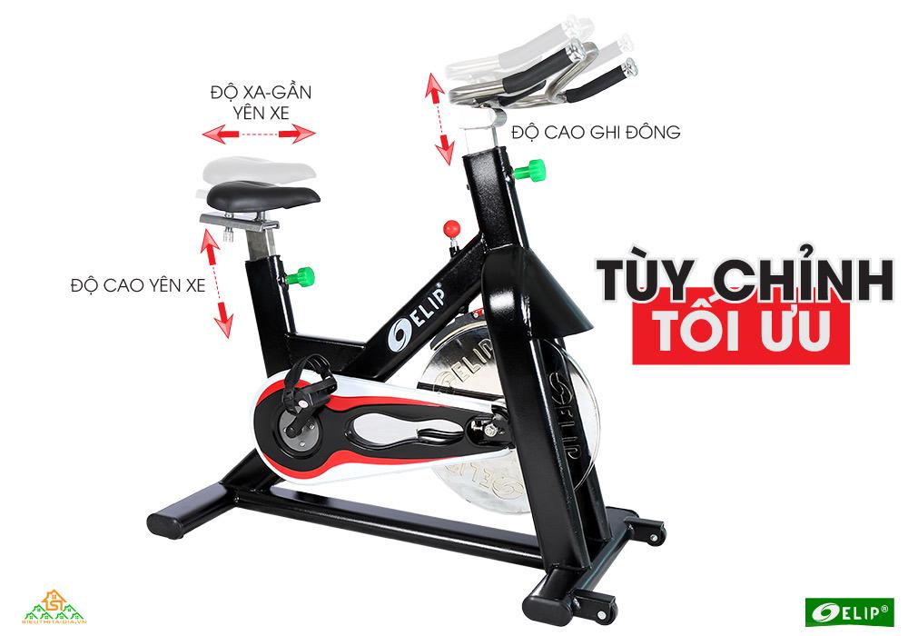 Xe đạp tập thể thao Gym Elip Master