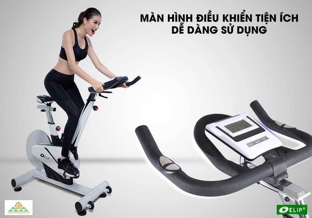 màn hình Xe đạp tập Elip Cleopat
