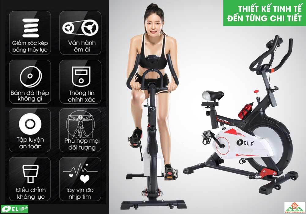 thiết kế Xe đạp tập Elip Everton