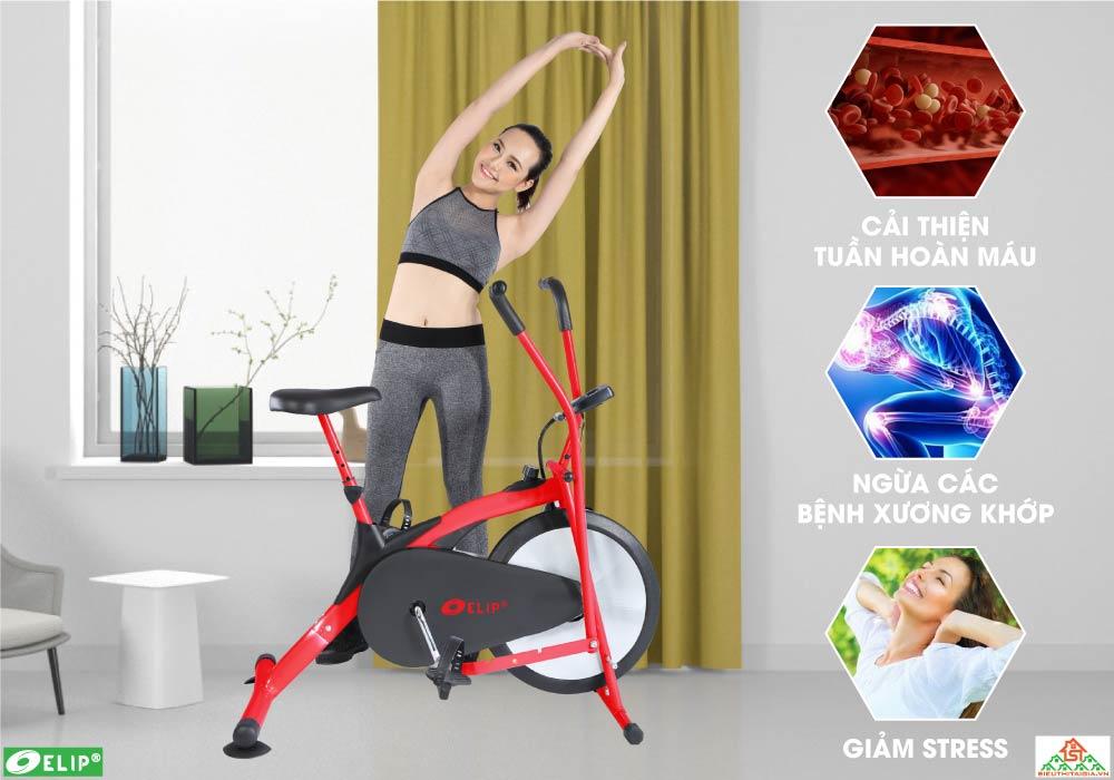 lợi ích Xe đạp tập Elip Zalo