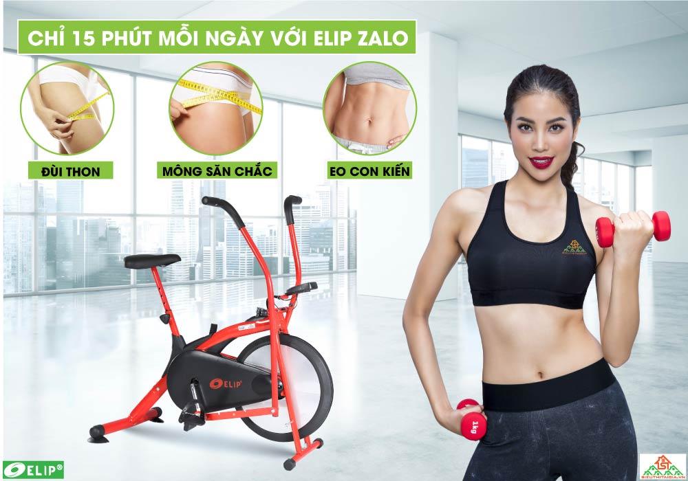 Phạm hương chọn Xe đạp tập Elip Zalo