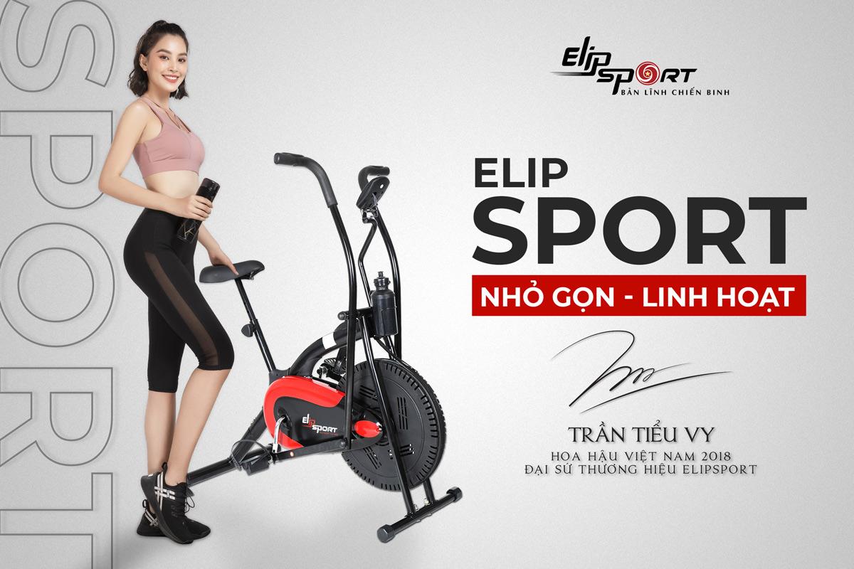xe đạp tập ELIP Sport thanh lý