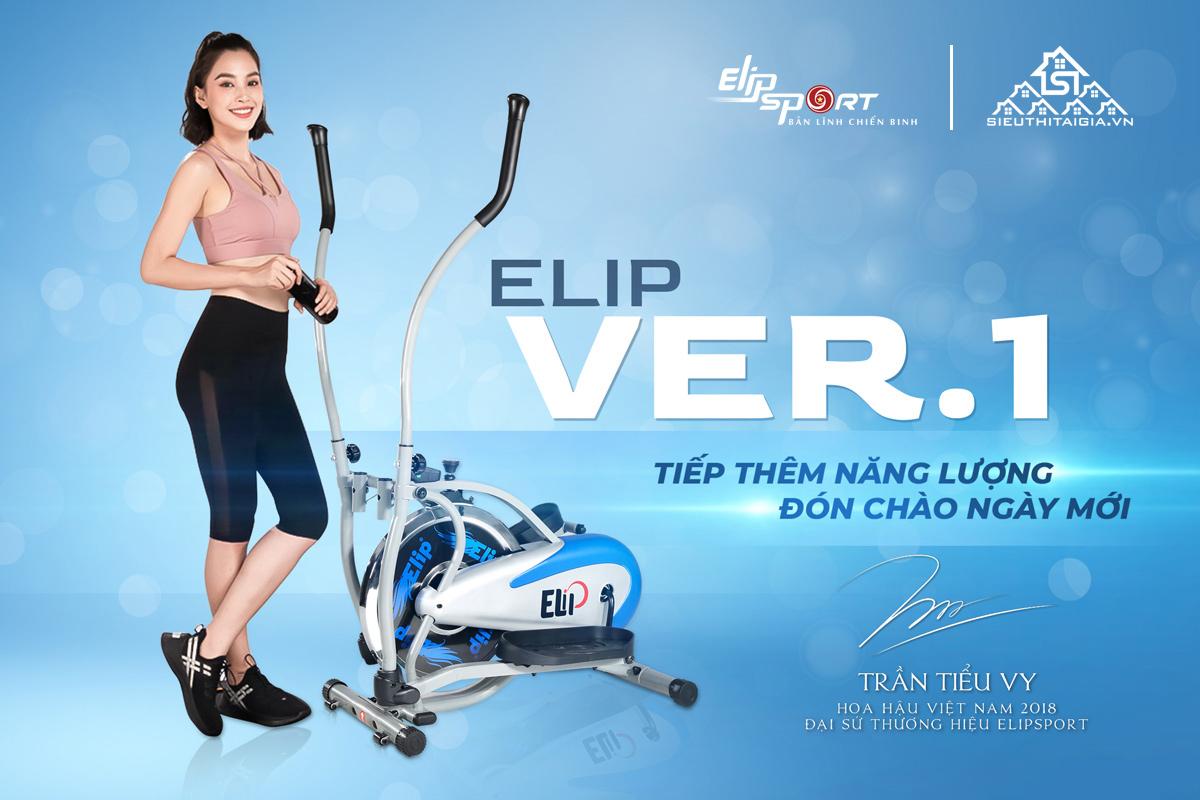 Xe đạp tập tổng hợp Elip Ver 1