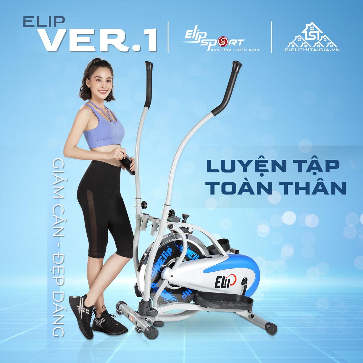 lợi ích Xe đạp tập tổng hợp Elip Ver 1