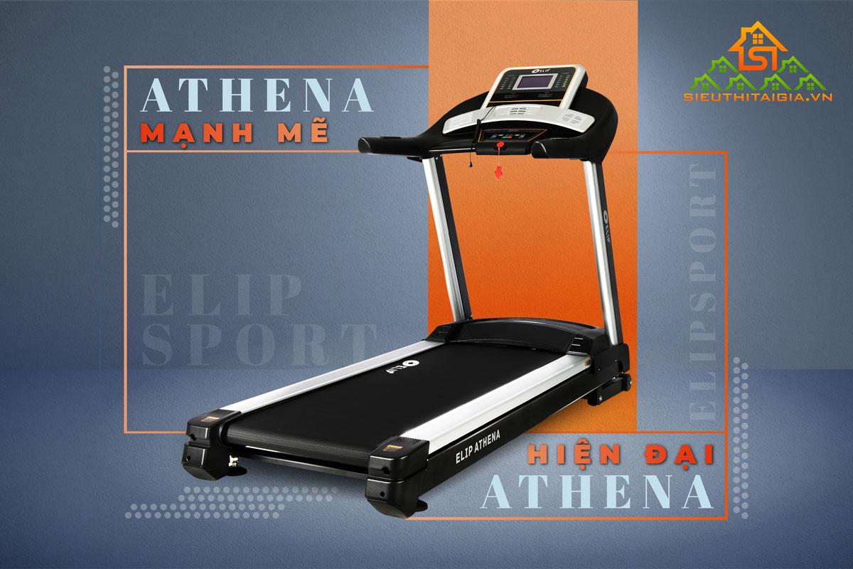 Máy chạy bộ điện Elip Athena