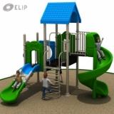 Cầu trượt liên hoàn Elip - M
