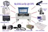 Máy cắt Laser Elip Plutoni-130*90-80W