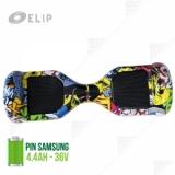 Xe Điện Tự Cân Bằng Elip Style - Pin Samsung - Yellow
