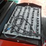 Xe nâng điện đứng lái 1 tấn Elip