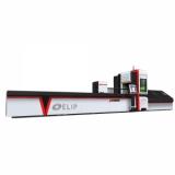 Máy Cắt CNC Laser Fiber Kim Loại Ống Elip-1000W