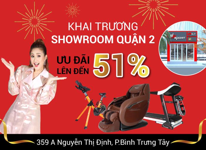 Khai trương 3 showroom Elip, dẫn đầu về số lượng 121 showroom trên toàn quốc - ảnh 1
